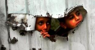 guerra bambini gaza