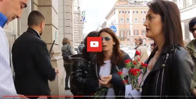 zara primo maggio roma video
