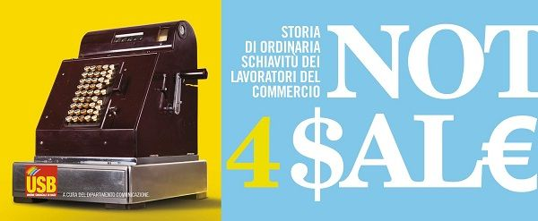 not 4 for $al€ lavoratori commercio