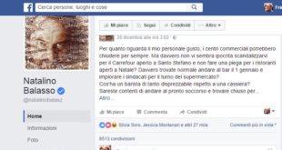 Natalino Balasso paragona i commessi agli infermieri: poco originale e fuorviante