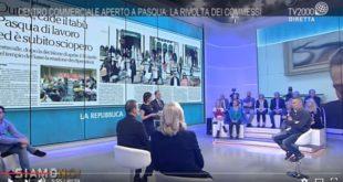 Outlet aperto di Pasqua: la rivolta dei commessi e la brutta figura della Cgil in TV