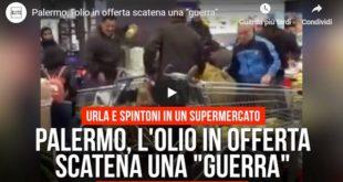 Supermercato: sfiorata la rissa per una bottiglia d'olio in offerta