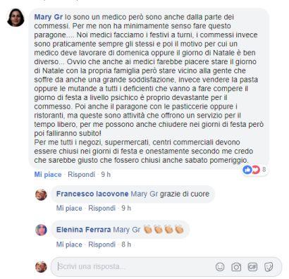 medico facebook domenica commessi