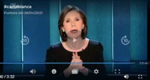 Commessi, covid e piano vaccinale: Carta Bianca Rai3